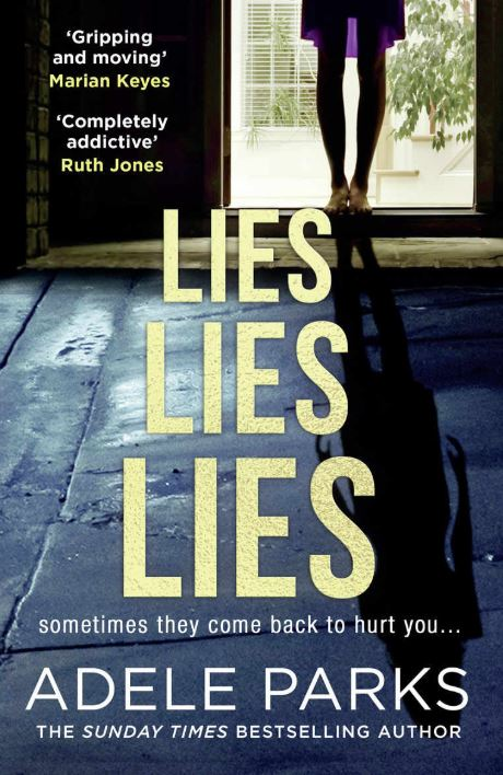 Book cover Lies Lies Lies by Adele Parks