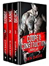 Cooper Construction Series: Books 1-3