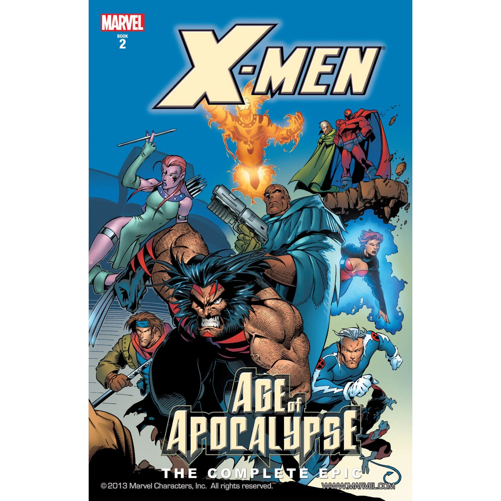 ⭐️ X-MEN Chronicles #2 1995 MARVEL Comics VF Book Age of APOCALYPSE