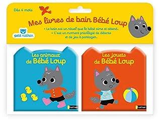 Mes livres de bain Bébé-Loup : Les animaux de bébé Loup ; Les jouets de bébé Loup