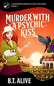 Murder With a Psychic Kiss (Wonder Springs #3)