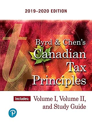 2016-2017 Edition Volume 2 Byrd /& Chens Canadian Tax Principles