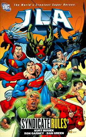JLA, Vol. 17: Syndicate Rules
