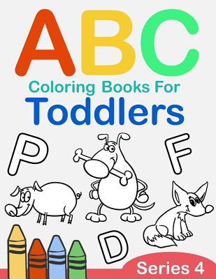 Abc Coloring Books For Toddlers Series 4 A To Z Coloring Sheets