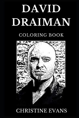 David Draiman Coloring Book: Famous Frontman from Disturbed ...