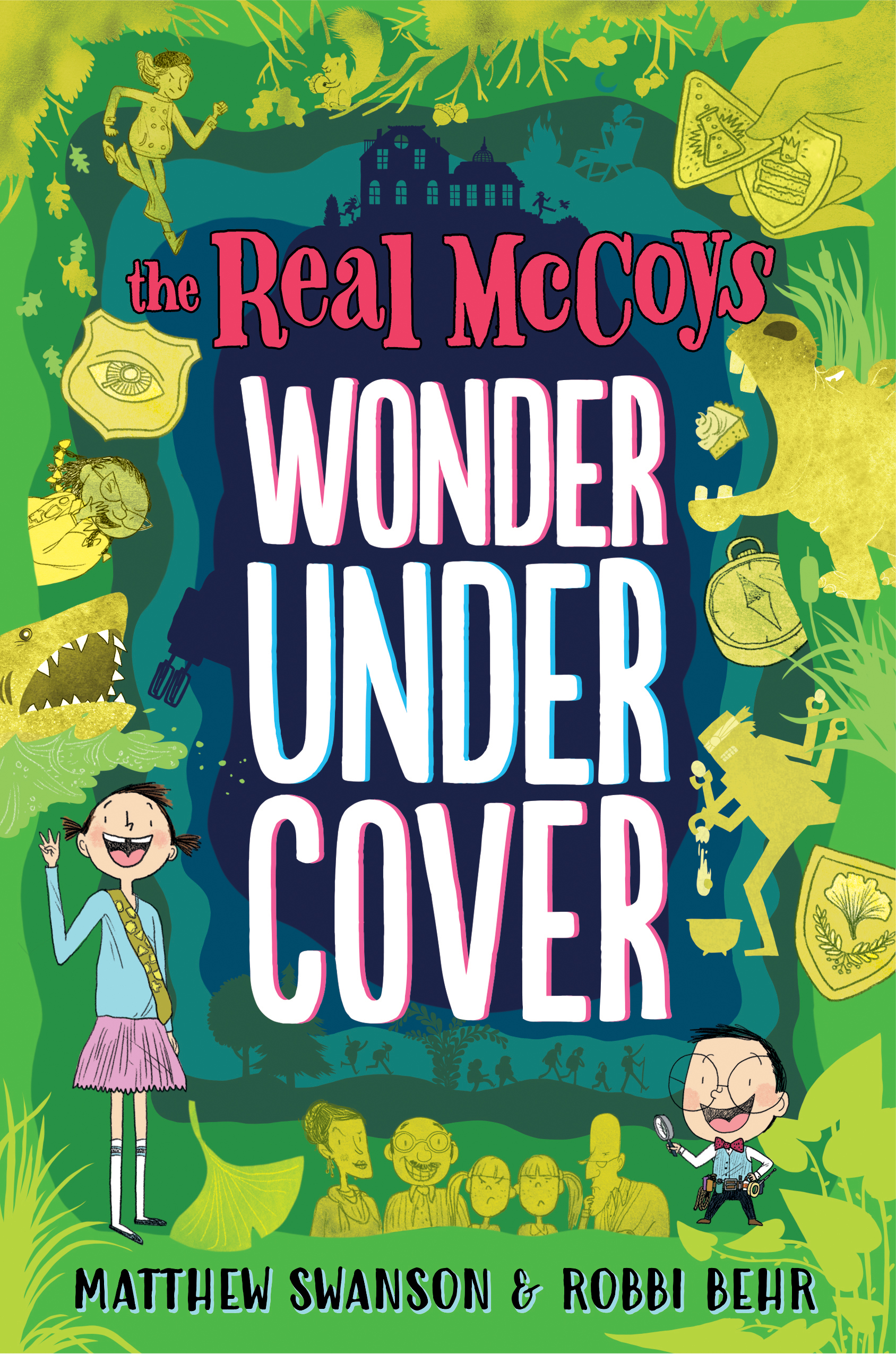 The Real McCoys: Wonder Undercover