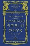 De boeken van het Begin-trilogie: Smaragd, Robijn, Onyx