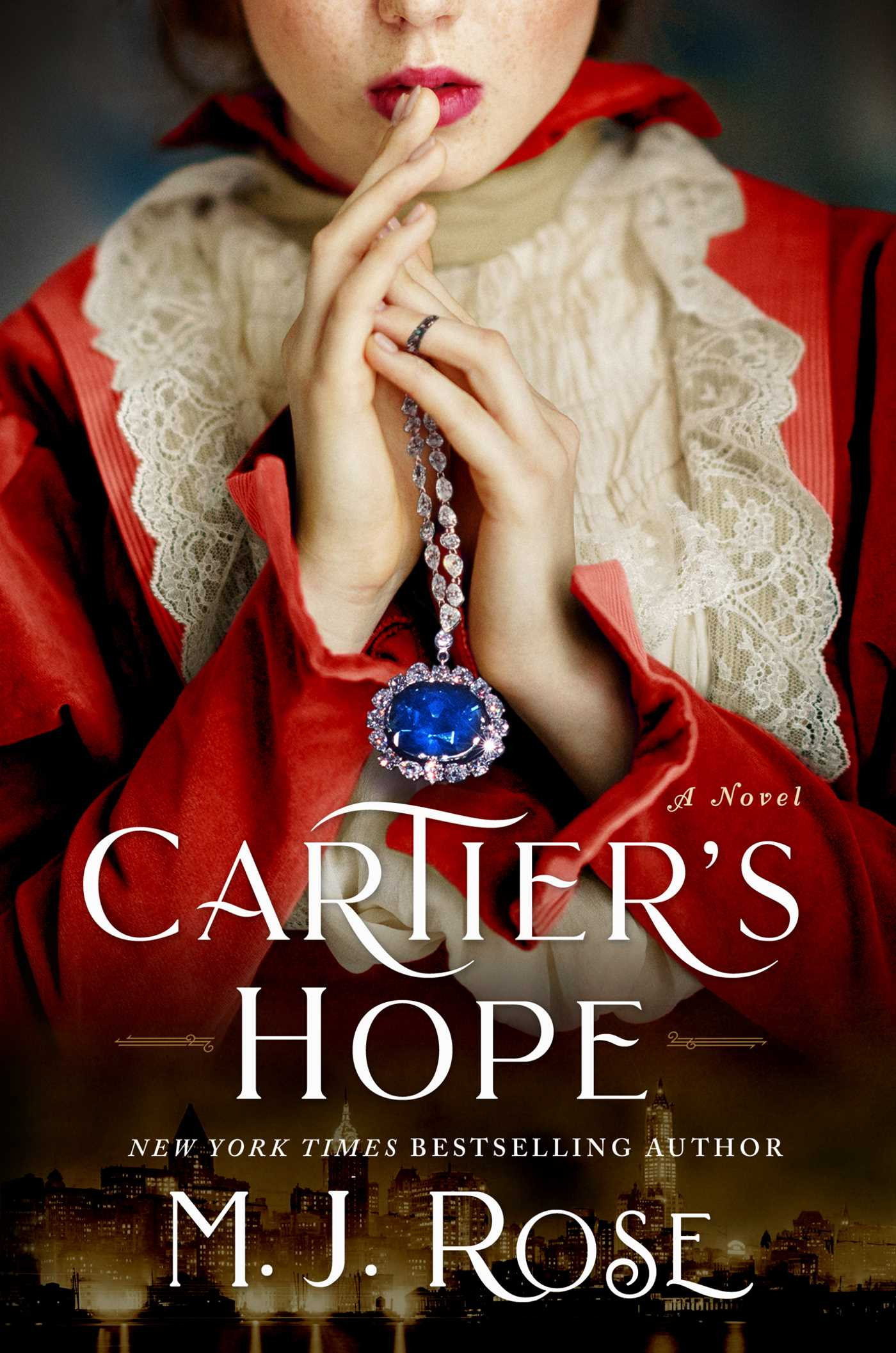 Book cover for Cartier's Hope by M.J. Rose