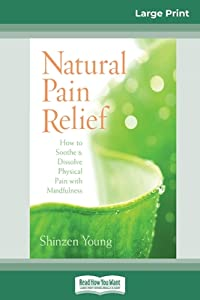 Natural Pain Relief: How to Soothe and Dissolve Physical Pain with Mindfulness (16pt Large Print Edition)