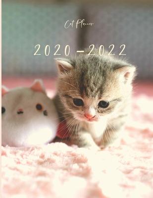 Cat Calendar 2022.2020 2022 3 Year Planner Kitten Cat Monthly Calendar Goals Agenda Schedule Organizer 36 Months Calendar Appointment Diary Journal With Address Book Password Log Notes Julian Dates Inspirational Quotes By Not A Book