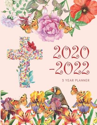 2022 Christian Calendar.2020 2022 3 Year Planner Christian Monthly Calendar Goals Agenda Schedule Organizer 36 Months Calendar Appointment Diary Journal With Address Book Password Log Notes Julian Dates Inspirational Quotes By Not A Book