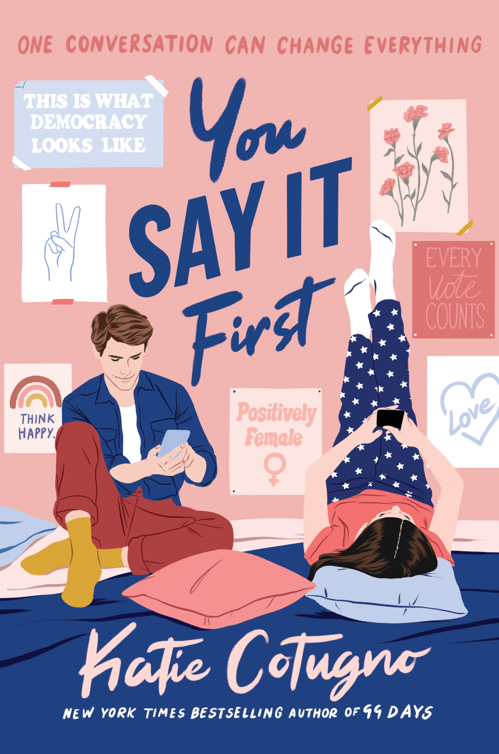 You Say It First Cover