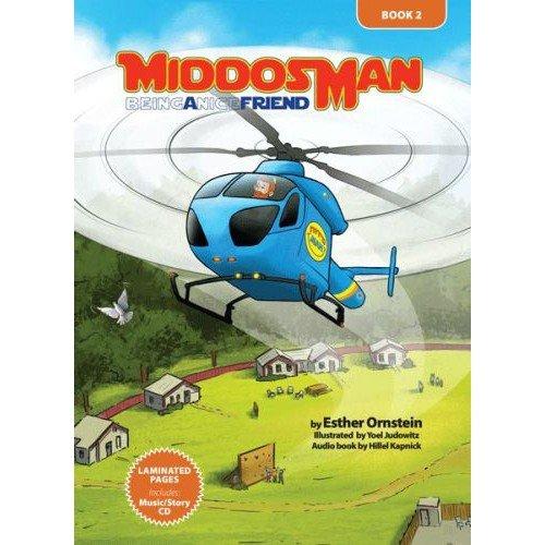 Middos Man Book & CD - Volume II; Being a Nice Friend Esther Ornstein