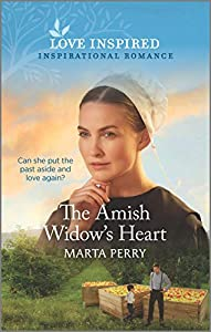 The Amish Widow's Heart (Brides of Lost Creek Book 4)