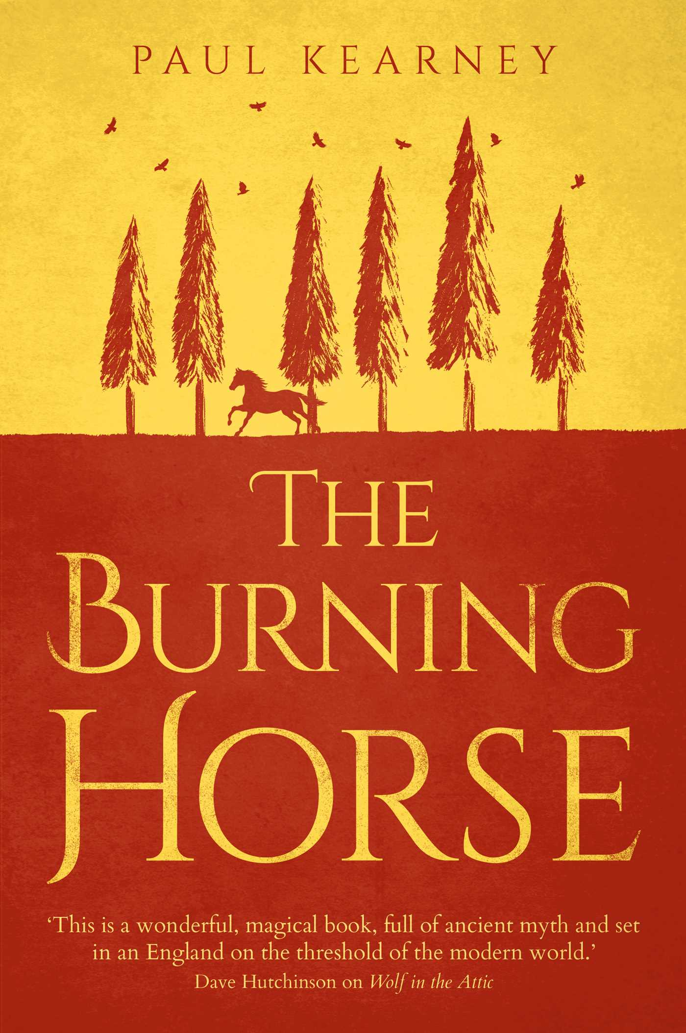 The Burning Horse