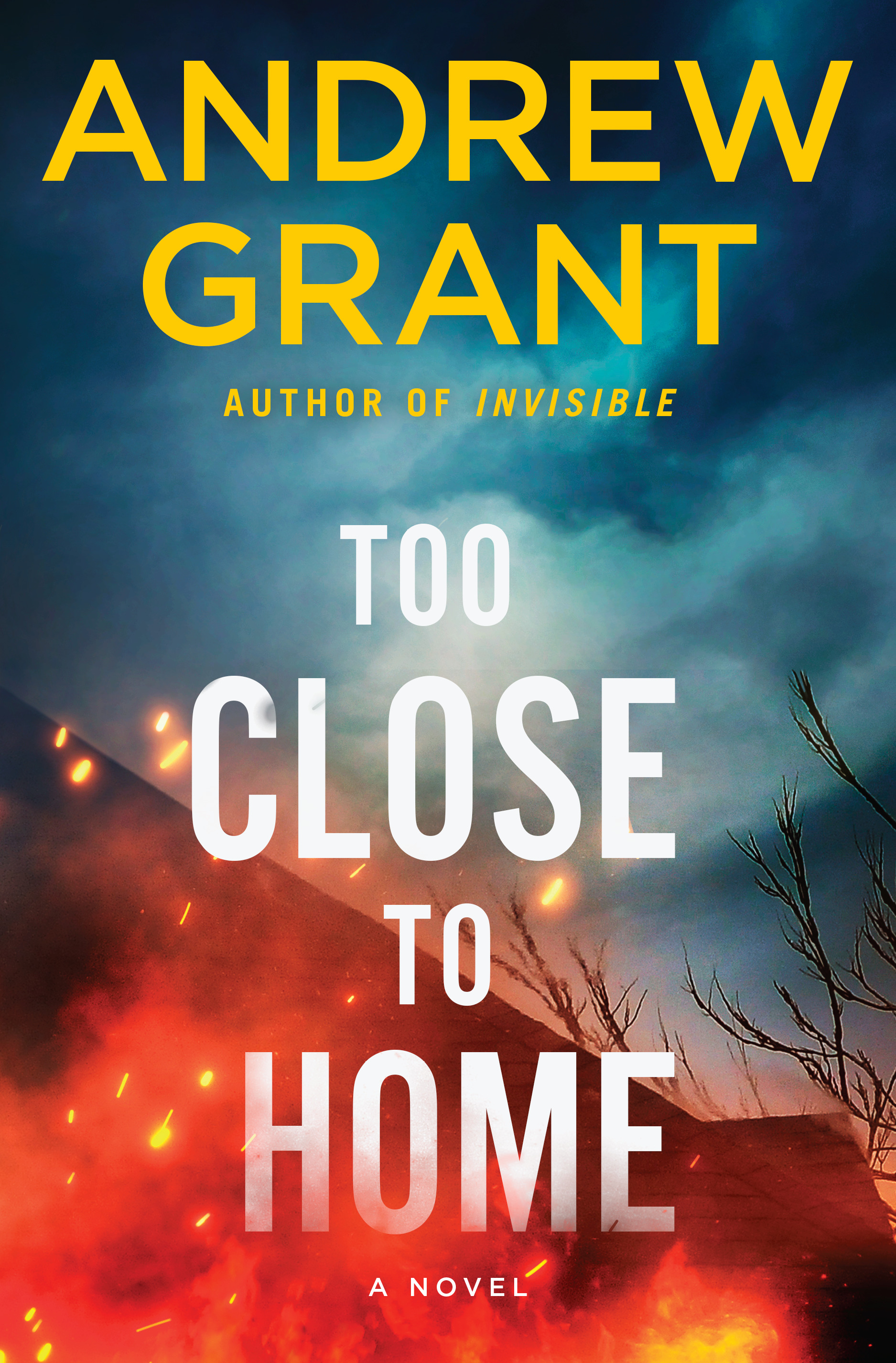Too Close to Home - Andrew Grant