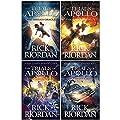 Rick Riordan The Trials of Apollo Collection 4 Books Set