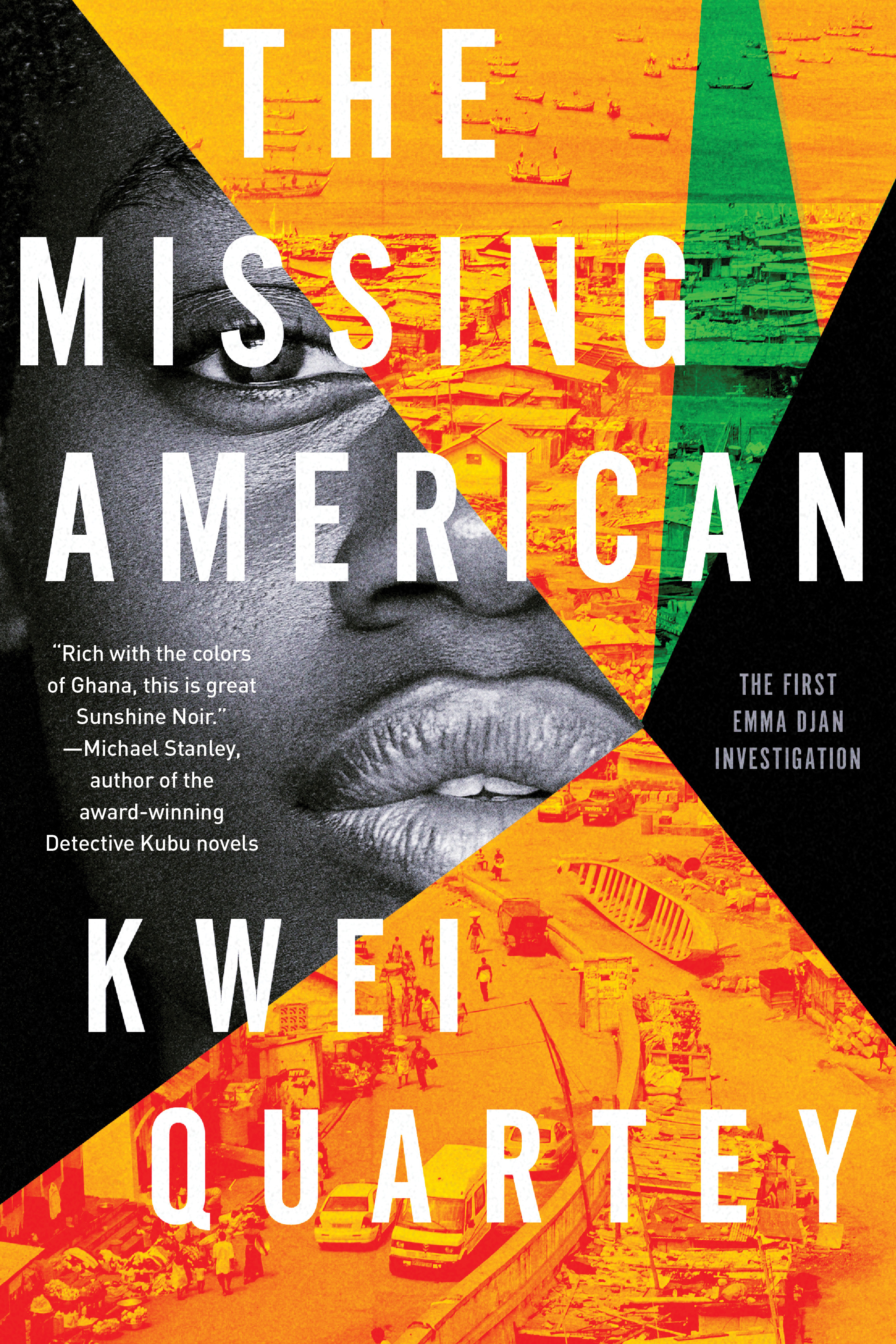 The Missing American - Kwei Quartey