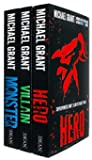 The Monster Series 3 Books Collection Set by Michael Grant ( Hero, Villain, Monster)