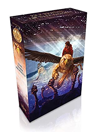 The Trials of Apollo Book Two The Dark Prophecy - Walmart Edition