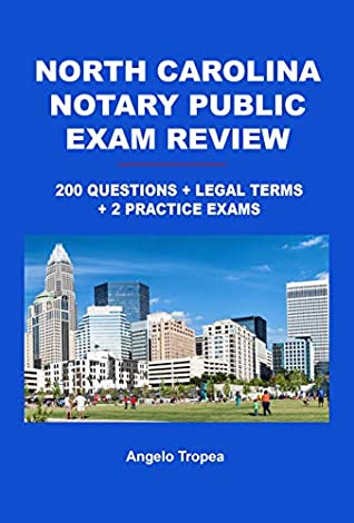North Carolina Notary Public Exam Review