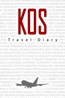 Kos Travel Diary: Travel and vacation diary for Kos. A logbook with important pre-made pages and many free sites for your travel memories. For a present, notebook or as a parting gift