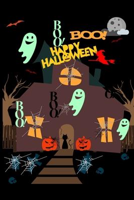 Happy Halloween Boo! Boo! Boo!: Boo! Boo! Boo!