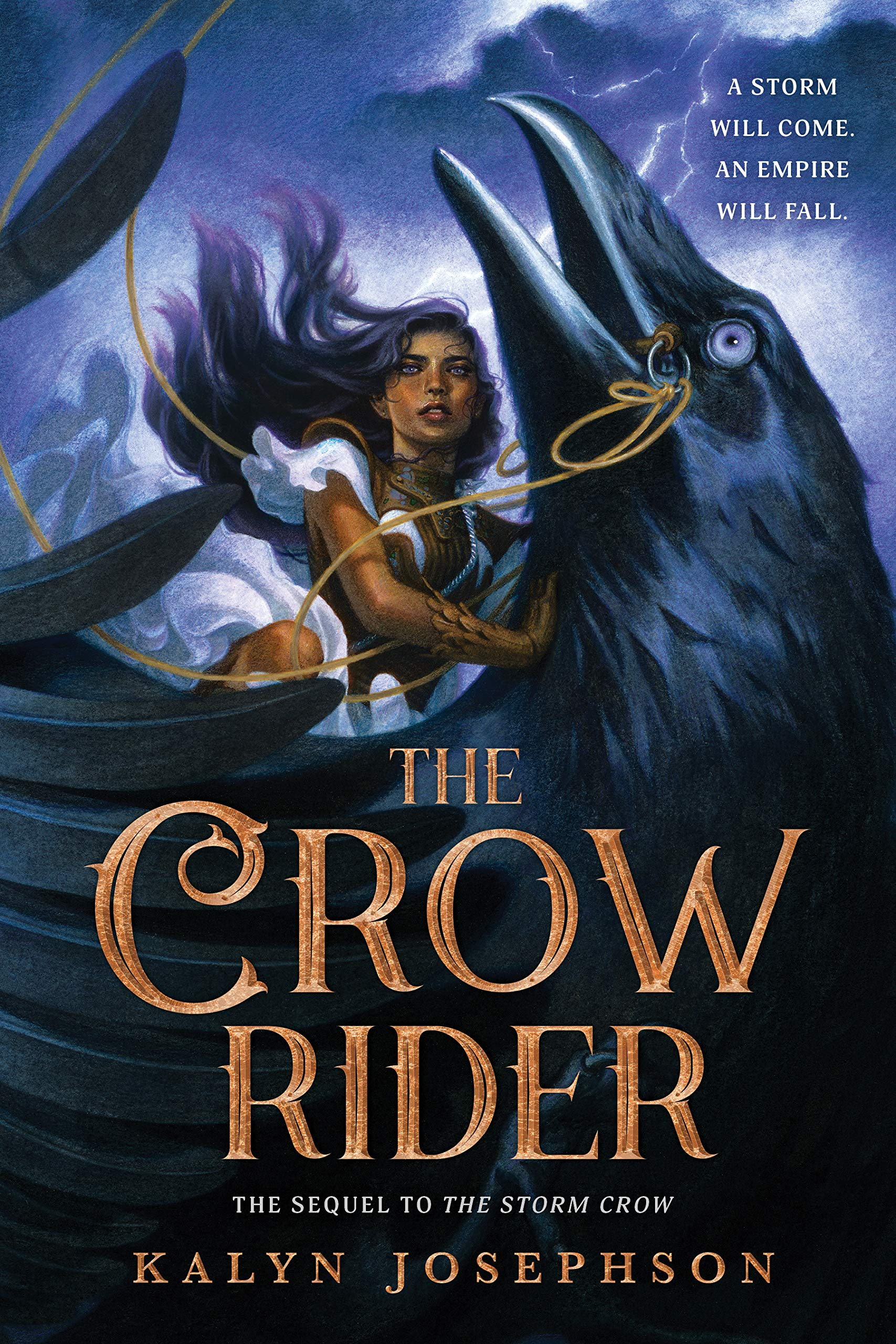 The Crow Rider (The Storm Crow, #2)