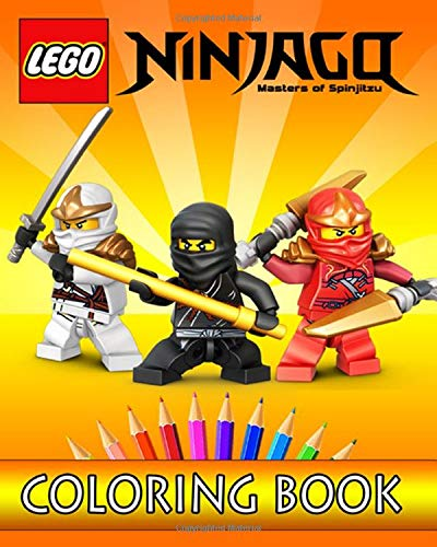 LEGO NINJAGO Coloring Book: Coloring Books For Kids Ages 2+ By West TM  Publisher