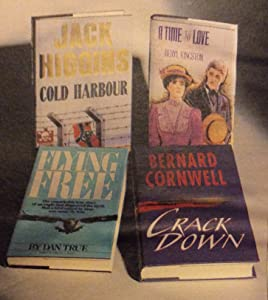 Reader's Digest Condensed Books 1990: Cold Harbour, A Time To Love, Flying Free, Crackdown