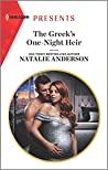 The Greek's One-Night Heir (Harlequin Presents Book 3786)
