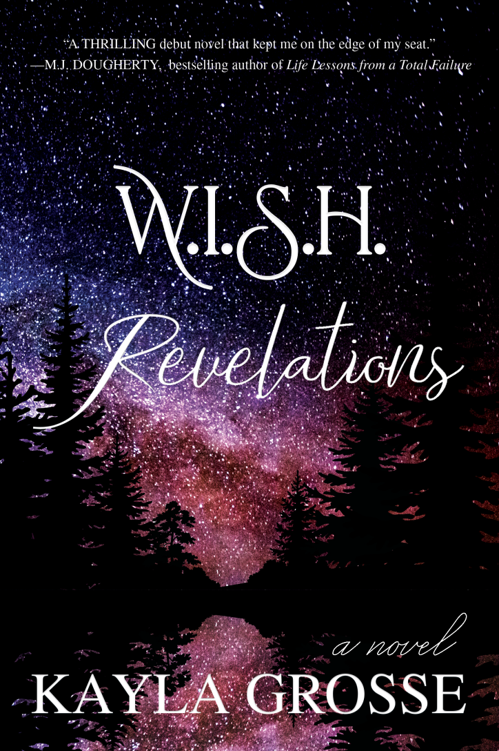 W.I.S.H. Revelations book cover by Kayla Grosse