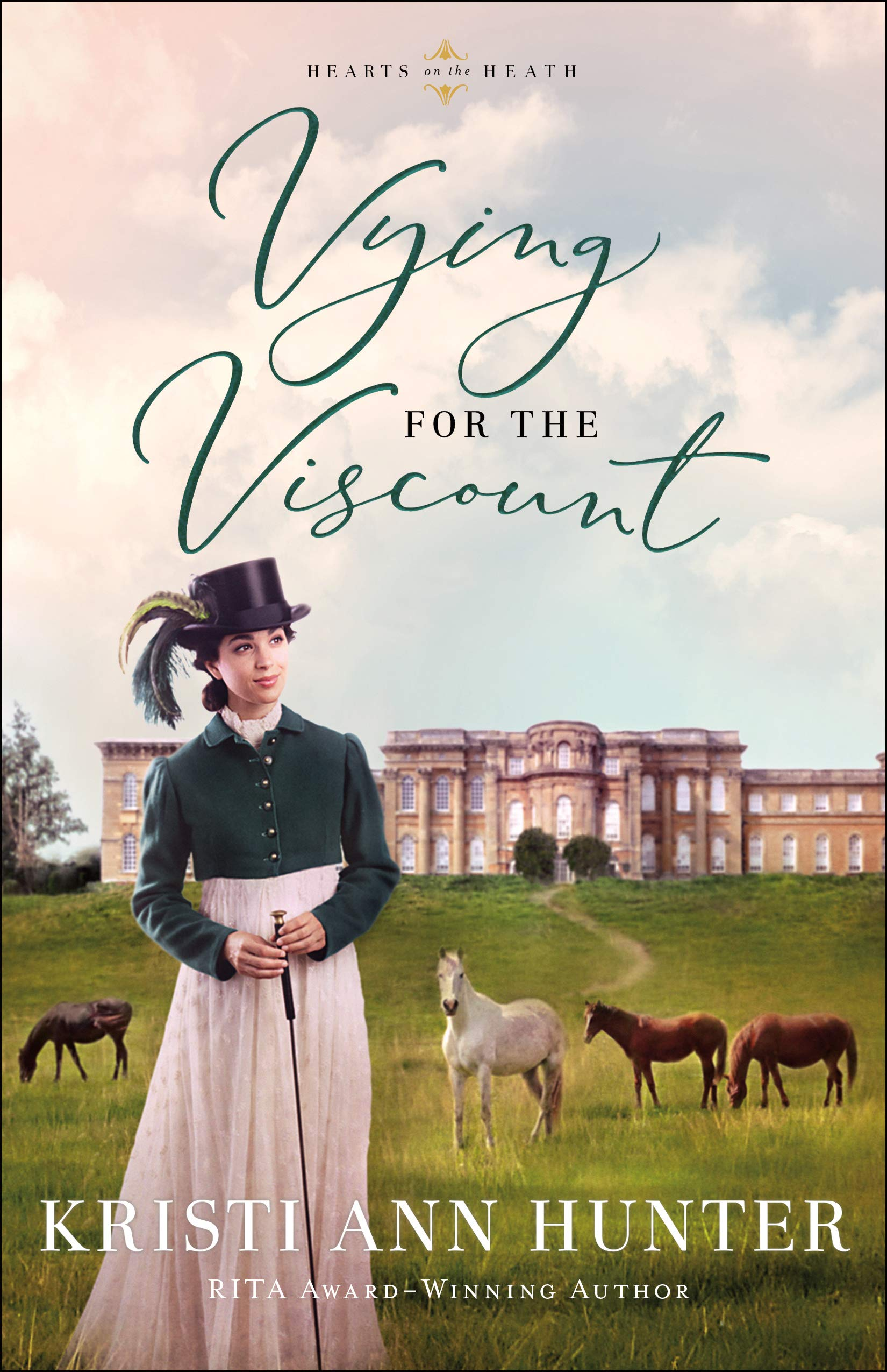 Vying for the Viscount (Hearts on the Heath, #1)