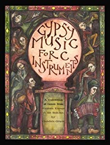 Spartan Press Music GIPSY MUSIC FOR C INSTRUMENTS + CD Sheet music pop, rock Music from all over the world
