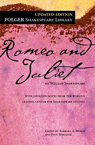 Romeo and Juliet cover image from Goodreads
