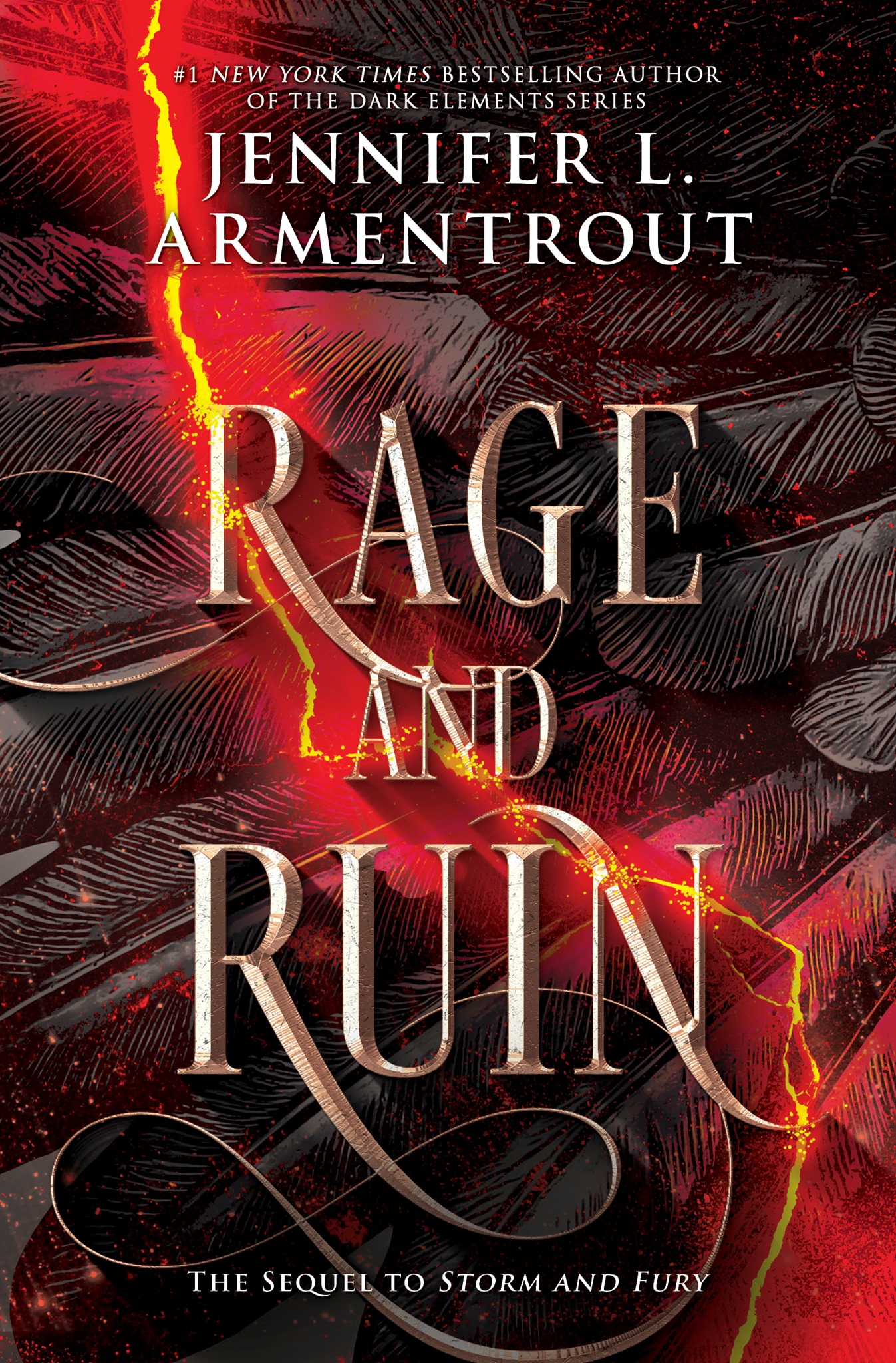 Rage and Ruin (The Harbinger, #2) by Jennifer L. Armentrout