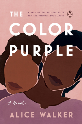 Book cover for The Color Purple. Purple background with two women of color in the foreground.