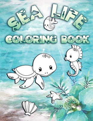 Ocean and Sea Animals Coloring Pages {Free Printable} - Easy Peasy ... | 400x309