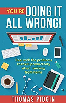 You're Doing It All Wrong! Learn how to deal with the four common problems that kill productivity when working from home.
