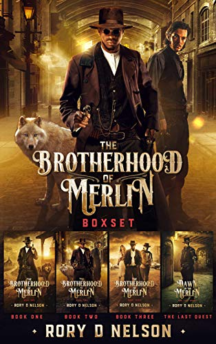 The Brotherhood of Merlin Boxset - Rory D. Nelson