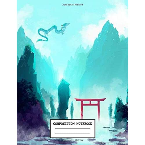Composition Notebook Japanese Manga Spirited Away Notebook And Journal Japan Anime School Supplies 7 5 X 9 25 In 110 Pages By Anime Lovers