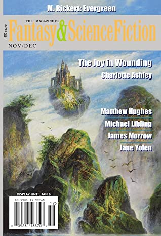 Image result for fantasy and science fiction magazine nov/dec 2019
