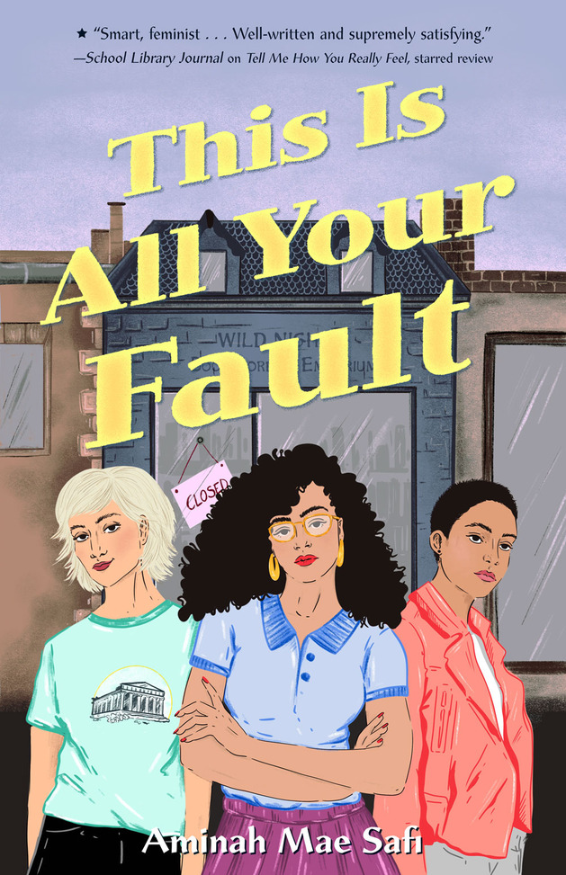 The book cover of This Is All Your Fault.