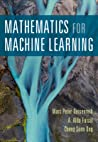 Mathematics for Machine Learning by Marc Deisenroth