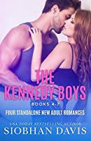 The Kennedy Boys (Books 4 - 7): A Collection of Four Stand-Alone New Adult Romances