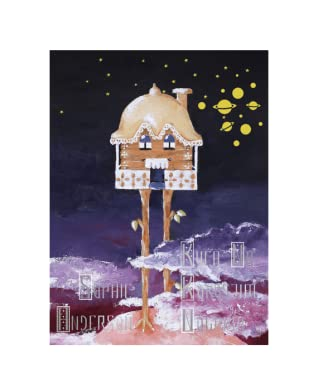 Kuća na kokošjim nogama by Sophie   Anderson
