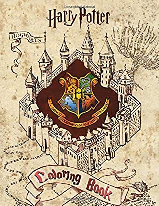 Harry Potter Coloring Book: Great Coloring Pages For Kids by ...