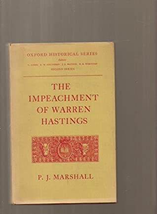 Impeachment of Warren Hastings (Oxford Historical)