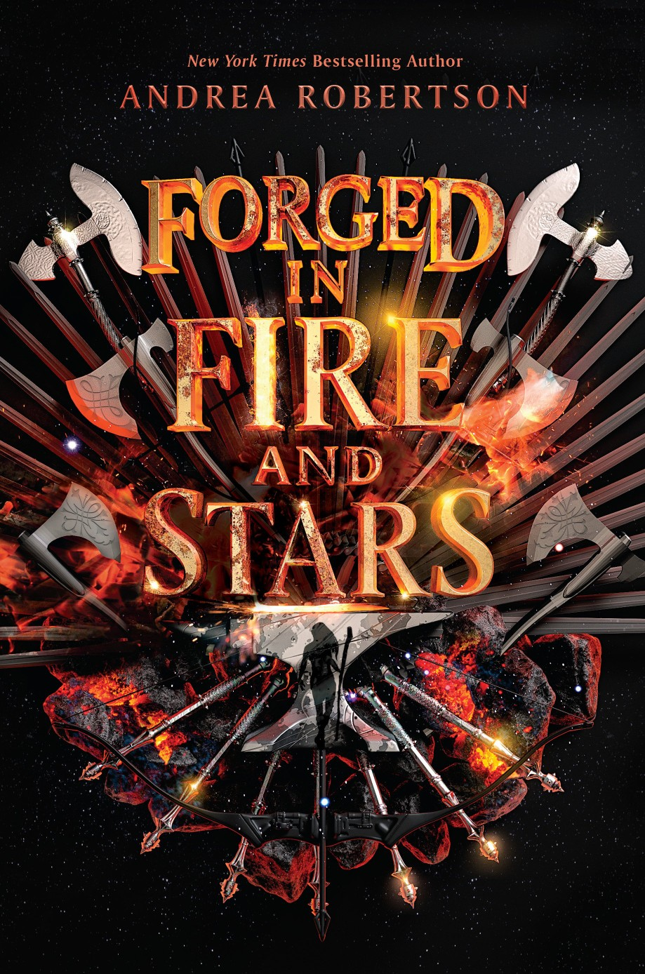 Forged in Fire and Stars - Andrea Robertson