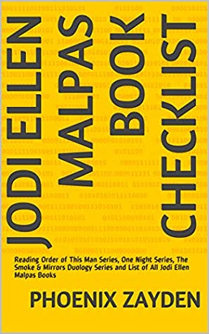 Jodi Ellen Malpas Book Checklist: Reading Order of This Man Series, One Night Series, The Smoke & Mirrors Duology Series and List of All Jodi Ellen Malpas Books